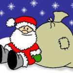 Kommt denn schon der Weihnachtsmann?