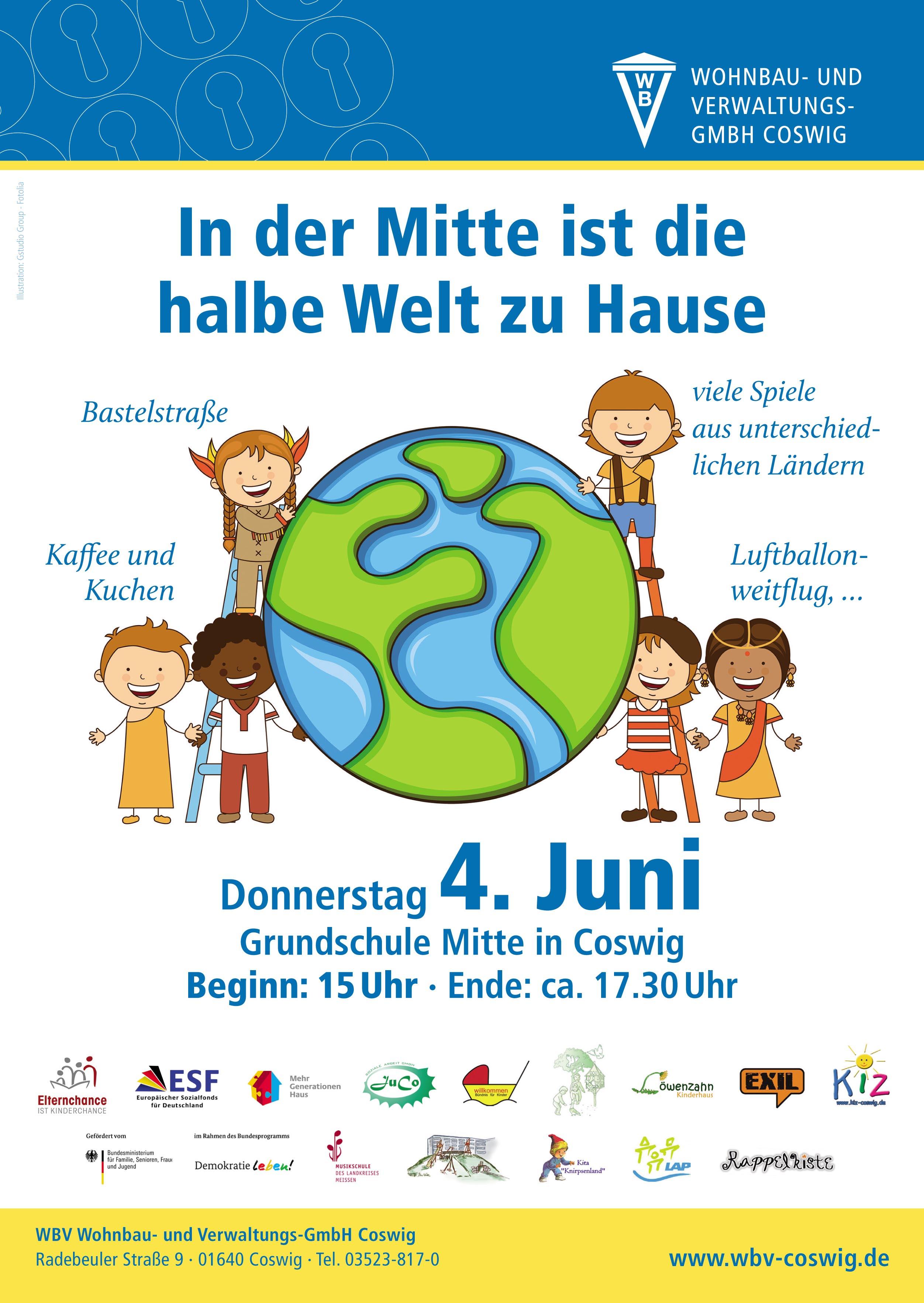 mai 2015 – grundschule mitte coswig, Einladungen