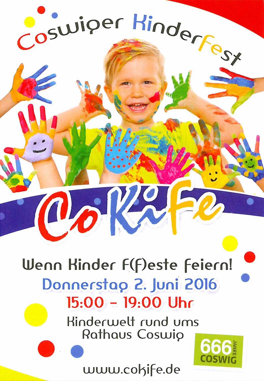 einladung zum coswiger kinderfest 2016 – grundschule mitte coswig, Einladungen